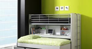 Potrójne łóżko piętrowe Bonny