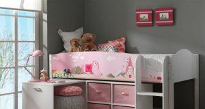 Łóżko piętrowe dla dzieci - Księżniczka