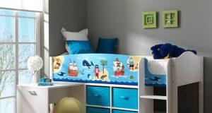 Łóżko piętrowe dla dzieci - Piraci