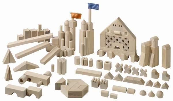Klocki Logiczne (148 el.) drewno bukowe
