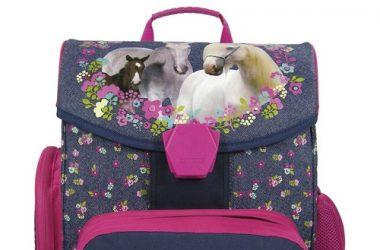 Tornister ergonomiczny Konie dla dziewczynki