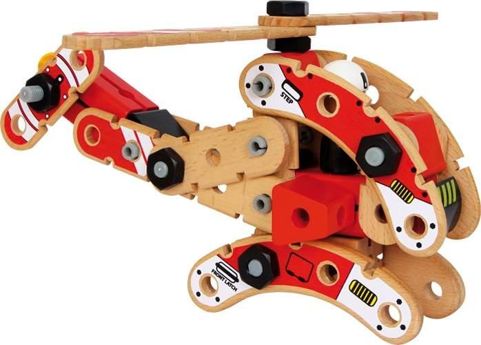 Zabawka konstrukcyjna dla dzieci helikopter