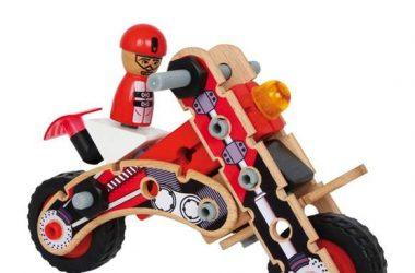Zabawka konstrukcyjna dla dzieci motocykl
