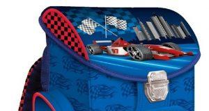 Tornister szkolny Racing Car dla chłopca