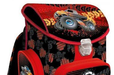 Tornister szkolny Monster truck dla chłopca