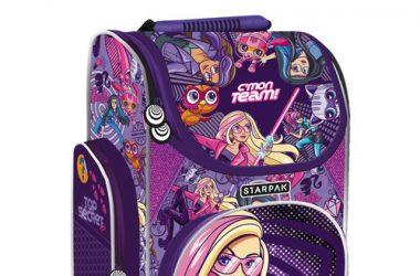Tornister szkolny Barbie Spy dla dziewczynki