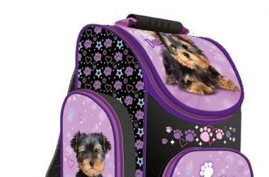 Tornister szkolny Kocham Psy dla dziewczynki