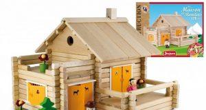 Dom z bali 175 klocków drewnianych