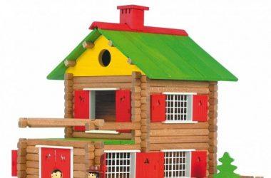 Dom Góralska chata z 175 klocków