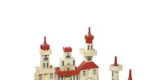 Zamek z klocków do zabawy dla dzieci 150 elementów