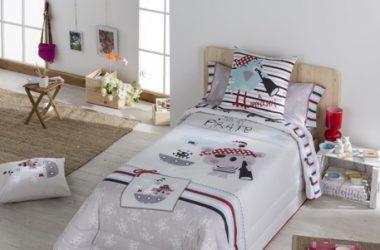 Dziecięca narzuta na łóżko pirat