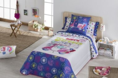 Dziecięca narzuta na łóżko drzemka