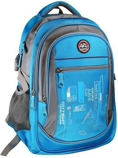 Plecak młodzieżowy 4 kieszenie niebieski