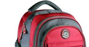 Plecak młodzieżowy 4 kieszenie czerwony