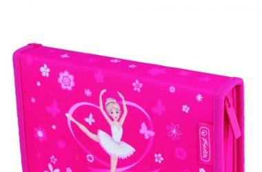 Piórnik z wyposażeniem 19 części Midi Girls Baletnica