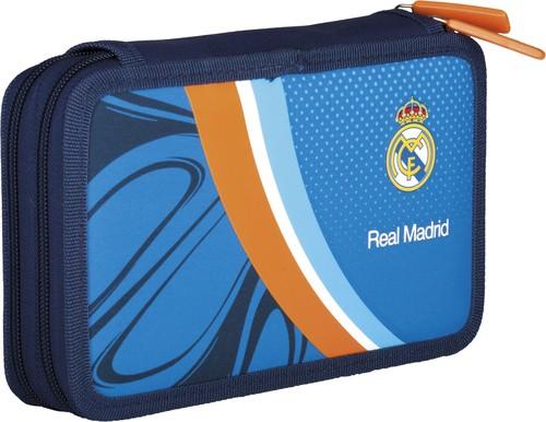Piórnik podwójny bez wyposażenia Real Madrid