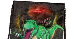 Worek na buty wzór Dinozaur