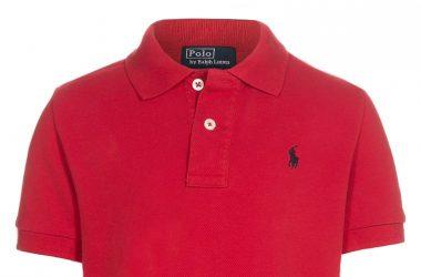 Koszulka Polo dziecięca Ralph Lauren czerwona