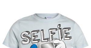Letnia koszulka dla chłopca Disney Selfie