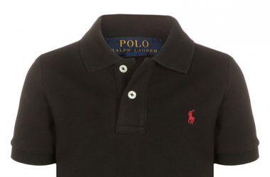Koszulka Polo dziecięca Ralph Lauren czarna