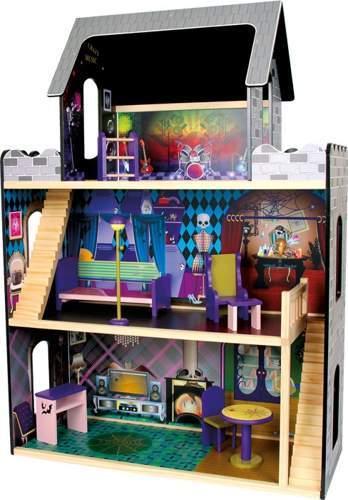 Domek dla lalek w stylu Monster High