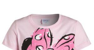 Koszulka t shirt dziecięcy na lato Minnie Mose różowa