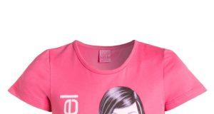 Bawełniana bluzka dla dziewczynki Top Model różowa