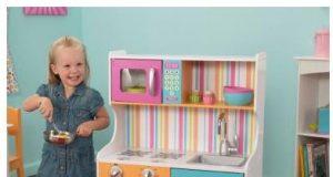 Kolorowa kuchnia zabawkowa Kidkraft