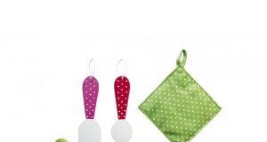 Zestaw naczyń dla dzieci kolorowe garnki