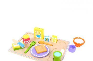 Drewniana taca śniadaniowa gotowanie dla dziewczynek i chłopców