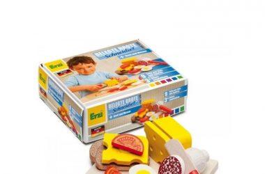Zestaw do przyrządzania kanapek zabawa w gotowanie dla dzieci
