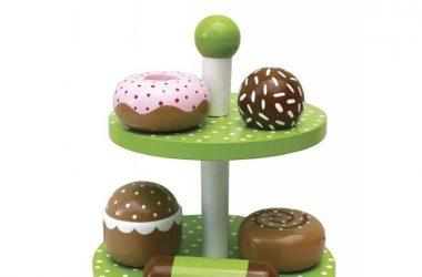 Zabawkowe Jedzenie Drewniane Ciastka