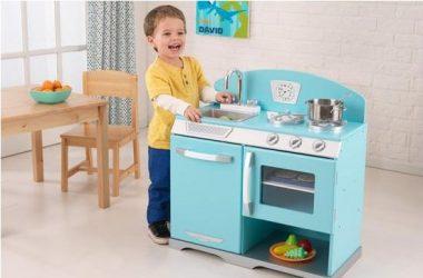 Duża zabawkowa kuchnia dla dzieci