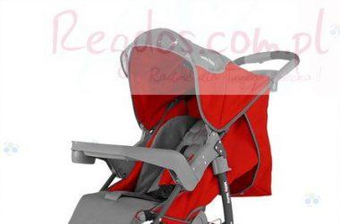Wózki dziecięce spacerowe VIP czerwony