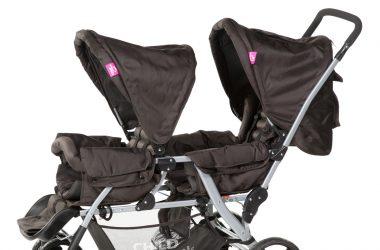 Spacerowy wózek dla bliźniaków
