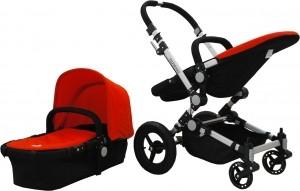 wózki wielofunkcyjne dla dzieci czerwony