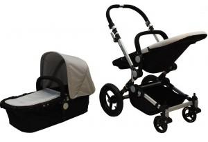 wózki wielofunkcyjne dla dzieci szary