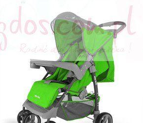 Wózek dziecięcy spacerowy VIP zielony