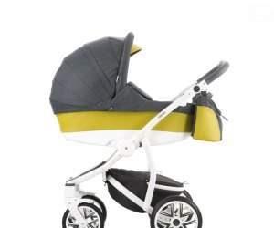 Lekki wózek wielofunkcyjny 3w1 szary