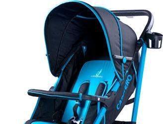 wózek spacerowy dla dzieci niebieski