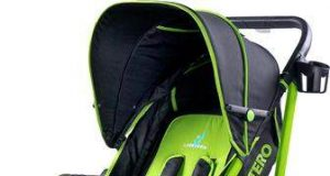 Wózek spacerowy dziecięcy zielony