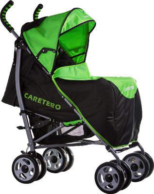 Wózki spacerowe dziecięce kolor czarny z zielonym