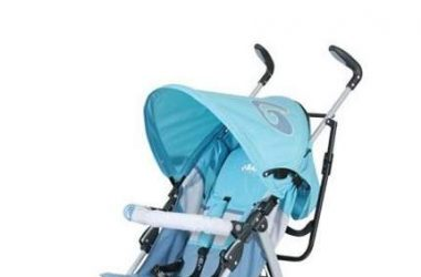 wózek spacerowy parasolka niebieski