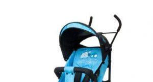 wózki spacerowe parasolki niebieski