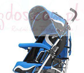 Wózek spacerowy dla dzieci Rider New niebieski