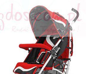 Wózki dla dzieci spacerowe Rider New czerwony