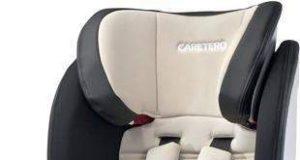 Fotelik samochodowy dla dziecka od 9 do 36 kg beżowy
