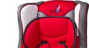 Fotelik samochodowy dla dzieci od 9 do 36 kg czerwony