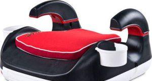 Siedzisko samochodowe dla dzieci czerwone