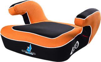 Podstawki samochodowe dla dziecka pomarańczowa